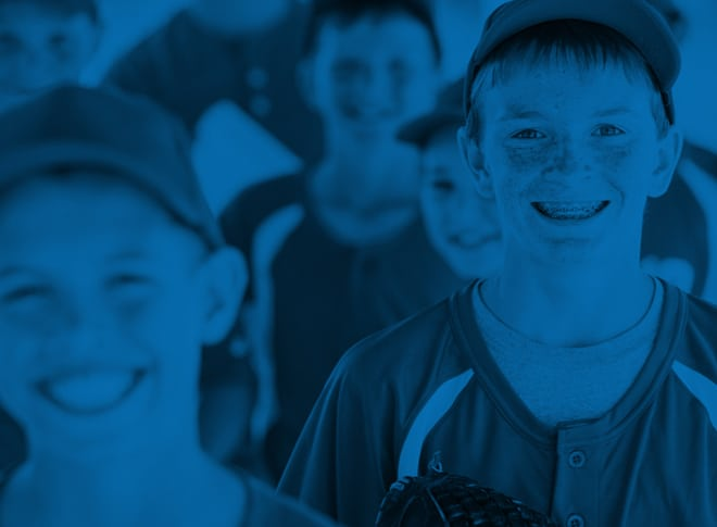 baseball bg - Caring For Your Braces