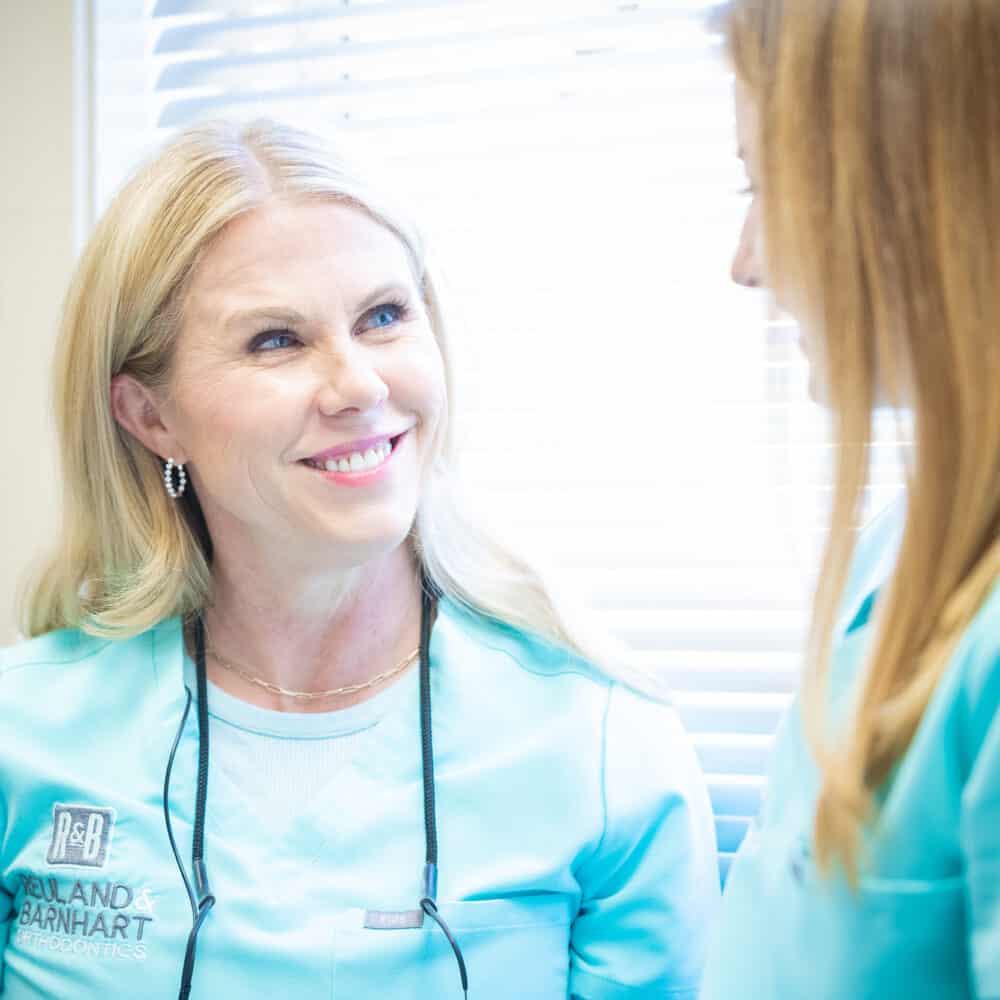 Doctor candids Reuland Barnhart Orthodontics Tyler TX 2021 100 1000x1000 - Meet Dr. Reuland