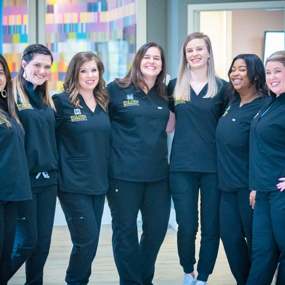 Team Reuland Barnhart Orthodontics Tyler TX 2021 123 1000x1000 - Meet Your Orthodontic Team