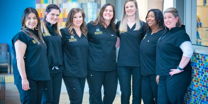 Team Reuland Barnhart Orthodontics Tyler TX 2021 123 670x335 - Meet Your Orthodontic Team