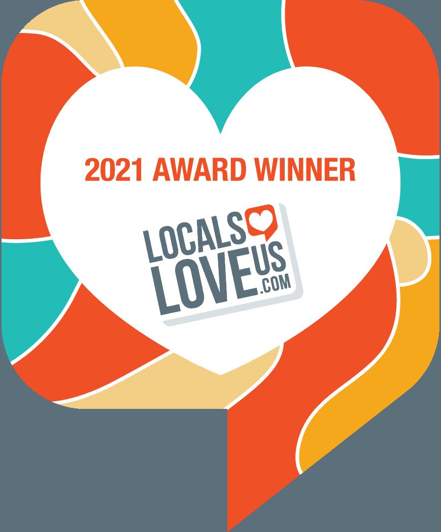 Award Plaque 2021 - We Love Tyler Texas
